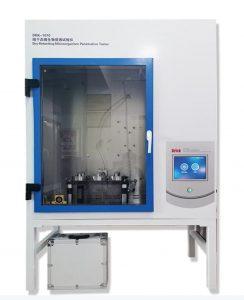 دستگاه تست میزان جلوگیری از میکروارگانیسم های خشک به سیستم آزمایشی